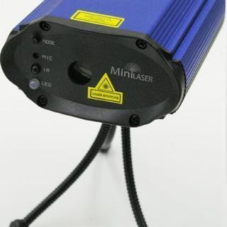 ミニレーザー照明【イーライトレーザーM-105RG】