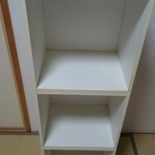 〔無料!〕カラーボックス 白×3 - 京都市