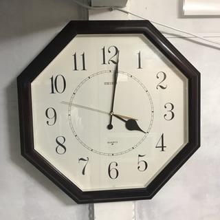 SEIKO 大きめの掛け時計