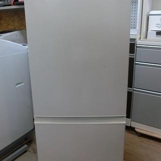 AQUA 2ドア 冷凍冷蔵庫 AQR-18F 2017年製 中古品