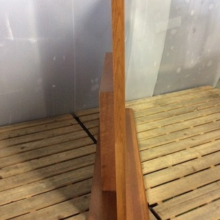 大きな鏡台 ドレッサー 鏡 木製枠 - 高座郡