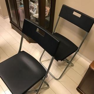 取引中 IKEA 不要折りたたみ椅子 一脚200円