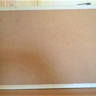 未使用 コルクボード 40㎝×30㎝× ¥300
