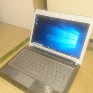 【美品】 SSD搭載 11インチ 持ち運び便利♪ ノートパソコン...