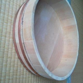寿司桶 内径33 高さ10 美品中古 商用