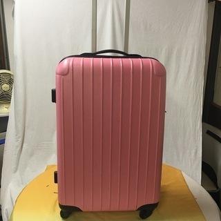 大きなスーツケース ピンク色 汚れありのためジャンク扱いでお願い...