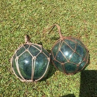 ビン玉 浮き玉 ガラス玉