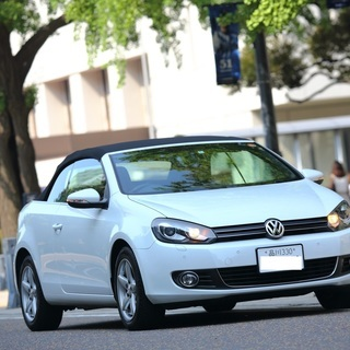 ◆平成24年式VWゴルフカブリオレ、電動オープン、車検3年5月!...