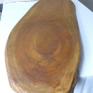 天然木 テーブル・イスの天板 看板に