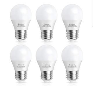 新品未使用‼️LED電球 6個セット 60W相当(7W) 電球色...