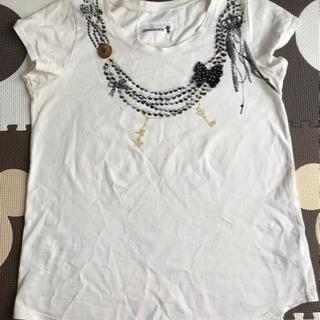 gaminerie アクセサリープリントTシャツ