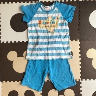 ミキハウス Tシャツ&短パンセット110