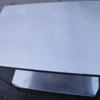 クロムステンレス 錆び無い鉄机 外用 90センチ×60センチ