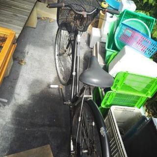 ☆中古☆自転車☆カゴ交換品付☆