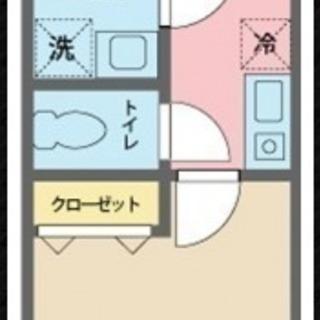 新築アパートで初期費用前家賃のみ!! 9月10日より入居可能♪内見...