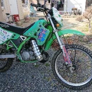 山バイKDX125(改) ツースト
