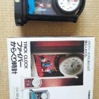 中古からくり時計