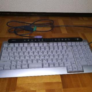 NECのキーボード