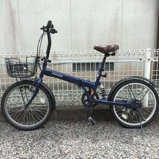 (美品)折りたたみ自転車