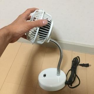 YAMAZENミニ扇風機 マグネット付き