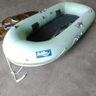 【値下げ】ローイングボート ゴムボート アキレス 釣り アウトドア