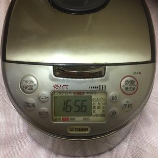 TIGER炊飯器 JKJ-B180(10合炊き)