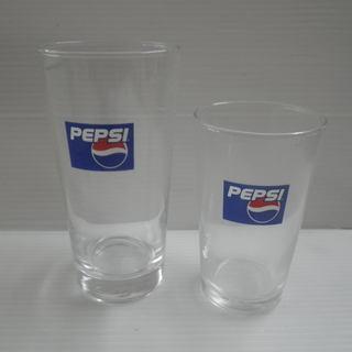 未使用 ペプシ オリジナルグラス 大2個 中12個 計14個セッ...