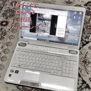 🔲東芝 dynabook16インチ/Core2 P8700/メモリ...