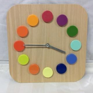 イケアの掛け時計 DASSIGT 27×4×27