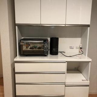 超美品 キッチンボード120センチ
