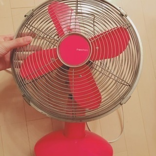 Franc Franc 購入 レトロピンク扇風機