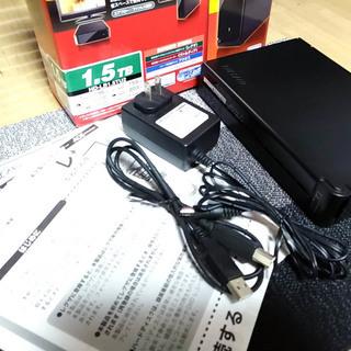 BUFFALO ドライブステーション 外付けハードディスク 1.5...