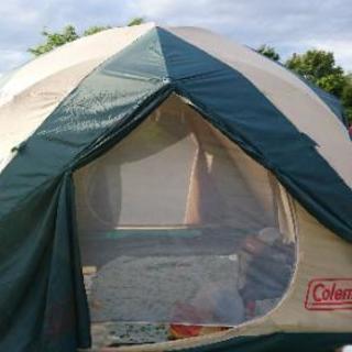 キャンプ テント (コールマン 6人用)