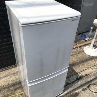 2014年製SHARP2ドア冷蔵庫137L