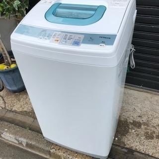 日立全自動洗濯機5キロ