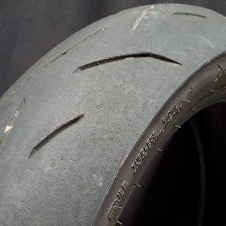 バイクタイヤ ダンロップ スポーツマックス α-12H リア 14...