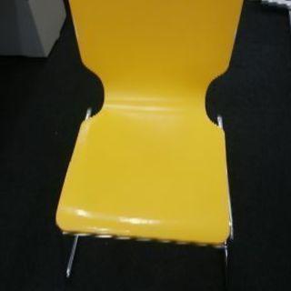椅子 黄色