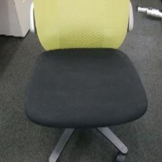 オフィス椅子 黄緑