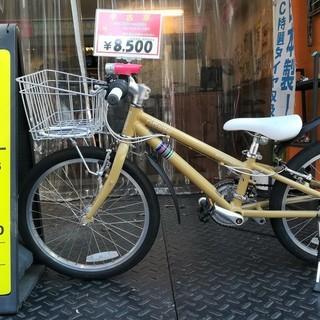 ☆整備済リサイクル自転車 20インチ 子供用クロスバイク 美品♪