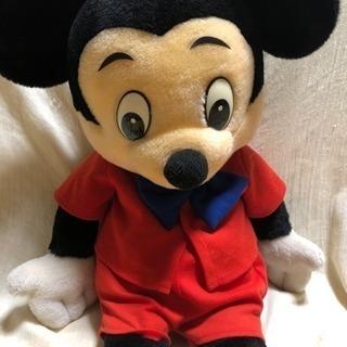 値下げ☆ミッキーマウス ディズニー 30年くらい前  アンティーク