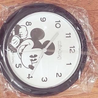 【新品☆未使用】ディズニー  ミッキーマウス壁掛け時計
