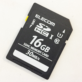 ELECOM SDHC 16GB メモリーカード