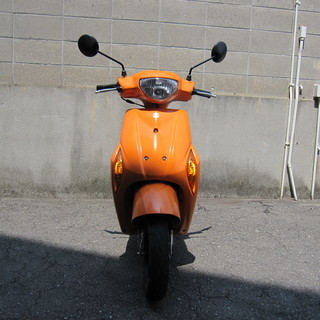 明石市 神戸市 スズキ レッツ5 CA47A 4ストオレンジスクーター
