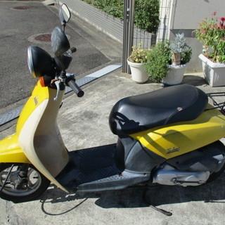 today スクーター AF61 走行少 黄色 即日納車も可能です
