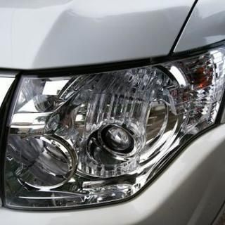 車のヘッドライト磨き(金沢市内)