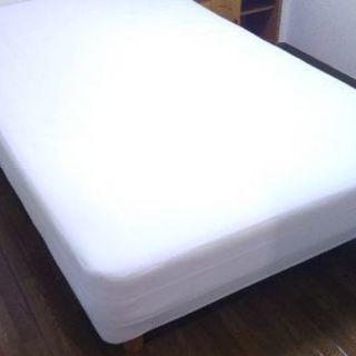 使用感有り  ベッド(脚付マットレス)