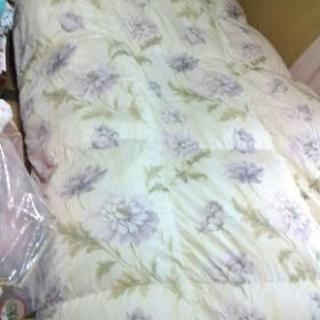 西川の羽毛布団