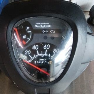 ホンダ郵政MD110スピードメーター
