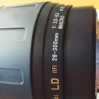 一眼レフカメラレンズ TAMRON AF 28-300mm Ultra Zoom XR F/3.5-6.3    (キヤノン用) - 家電