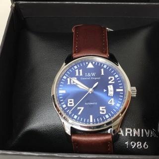 ☆【未使用】カーニバルCARNIVAL/I&W 機械式腕時計 自...
